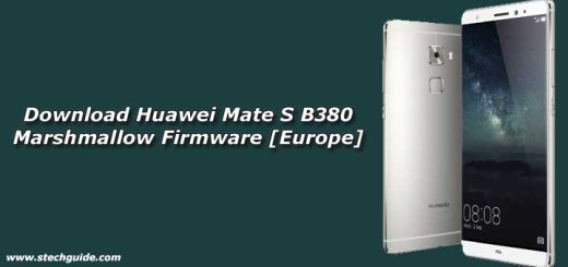 Download Huawei Mate S B380 Marshmallow Firmware [Europe]