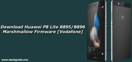 Download Huawei P8 Lite B895/B896 Marshmallow Firmware [Vodafone]