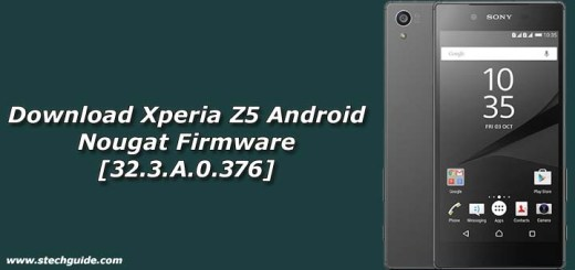 Download Xperia Z5 Android Nougat Firmware [32.3.A.0.376]