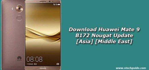 Download Huawei Mate 9 B172 Nougat Update