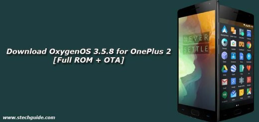Download OxygenOS 3.5.8 for OnePlus 2 [Full ROM + OTA]