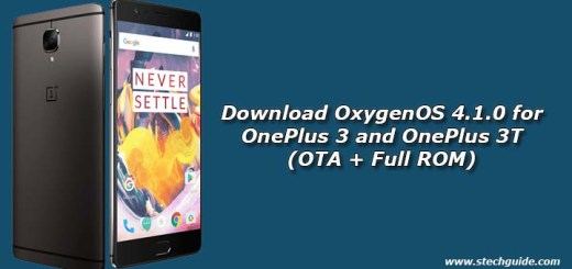 Download OxygenOS 4.1.0 for OnePlus 3 and OnePlus 3T (OTA + Full ROM)