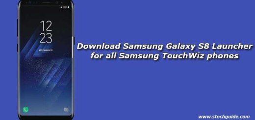 Download Samsung Galaxy S8 Launcher for all Samsung TouchWiz phones