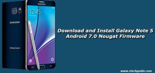 Download and Install Galaxy Note 5 Android 7.0 Nougat Firmware