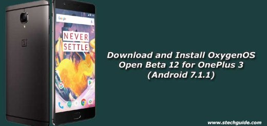 Download and Install OxygenOS Open Beta 12 for OnePlus 3 (Android 7.1.1)