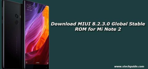 MIUI 8.2.1.0 Global Stable ROM for Mi Mix