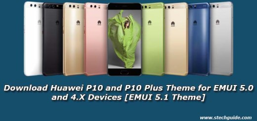 Download Huawei P10 and P10 Plus Theme for EMUI 5.0 and 4.X Devices [EMUI 5.1 Theme]