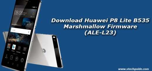 Download Huawei P8 Lite B535 Marshmallow Firmware (ALE-L23)