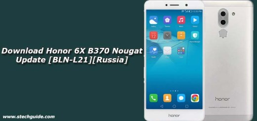 Download Honor 6X B370 Nougat Update [BLN-L21][Russia]