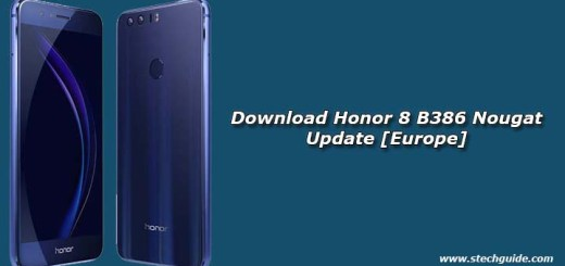 Download Honor 8 B386 Nougat Update [Europe]