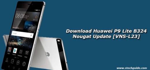 Download Huawei P9 Lite B324 Nougat Update [VNS-L23]