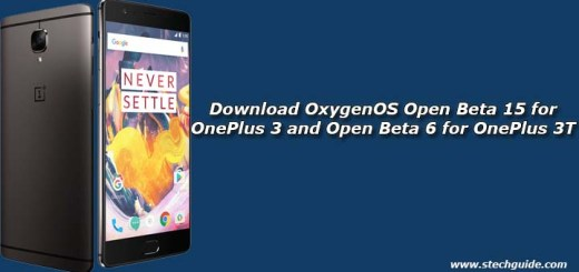 Download OxygenOS Open Beta 15 for OnePlus 3 and Open Beta 6 for OnePlus 3T