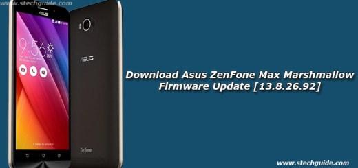 Download Asus ZenFone Max Marshmallow Firmware Update [13.8.26.92]