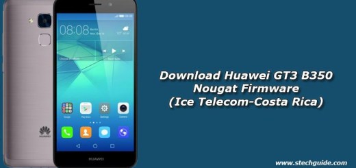 Download Huawei GT3 B350 Nougat Firmware