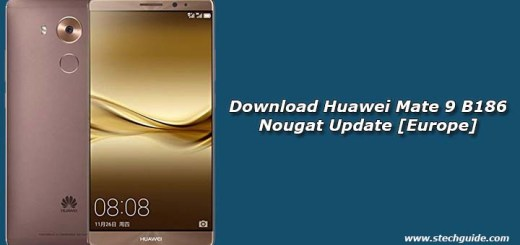 Download Huawei Mate 9 B186 Nougat Update [Europe]