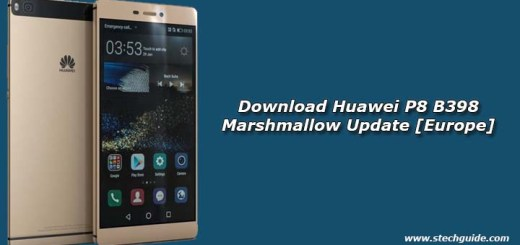Download Huawei P8 B398 Marshmallow Update [Europe]
