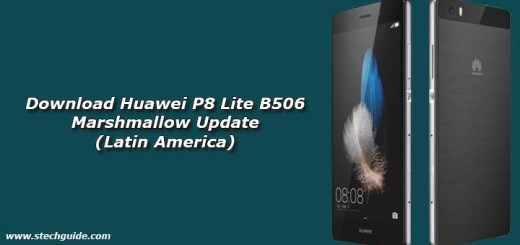 Download Huawei P8 Lite B506 Marshmallow Update (Latin America)