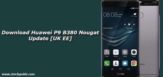 Download Huawei P9 B380 Nougat Update [UK EE]