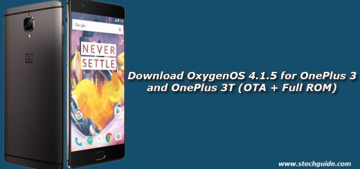 Download OxygenOS 4.1.5 for OnePlus 3 and OnePlus 3T