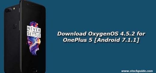 Download OxygenOS 4.5.2 for OnePlus 5 [Android 7.1.1]