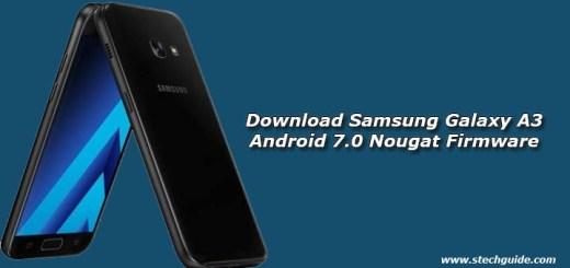 Download Samsung Galaxy A3 Android 7.0 Nougat Firmware