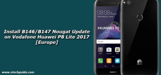 Install B146/B147 Nougat Update on Vodafone Huawei P8 Lite 2017 [Europe]