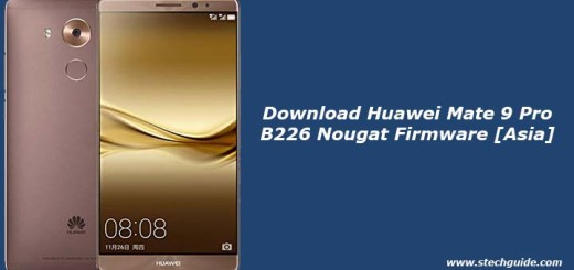 Download Huawei Mate 9 Pro B226 Nougat Firmware [Asia]