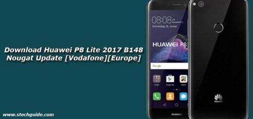 Download Huawei P8 Lite 2017 B148 Nougat Update [Vodafone][Europe]
