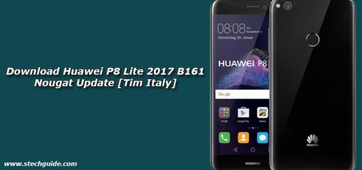 Download Huawei P8 Lite 2017 B161 Nougat Update [Tim Italy]