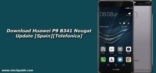 Download Huawei P9 B341 Nougat Update [Spain][Telefonica]