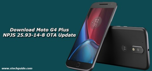 Download Moto G4 Plus NPJS 25.93-14-8 OTA Update