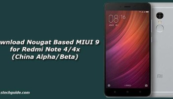Download MIUI 9 Beta ROM for Redmi 4x (MIUI 7 8 14)