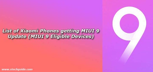List of Xiaomi Phones getting MIUI 9 Update (MIUI 9 Eligible Devices)
