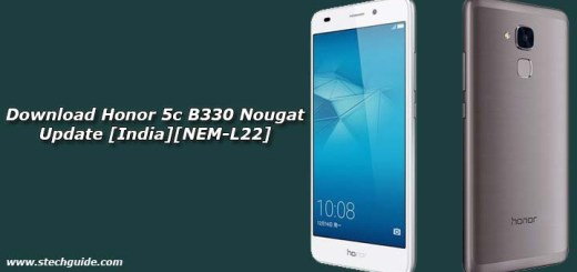 Download Honor 5c B330 Nougat Update [India][NEM-L22]
