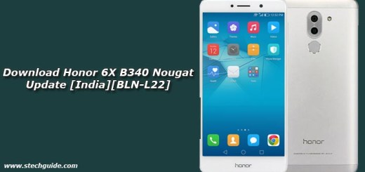 Download Honor 6X B340 Nougat Update [India][BLN-L22]