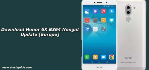 Download Honor 6X B364 Nougat Update [Europe]