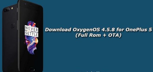 Download OxygenOS 4.5.8 for OnePlus 5 (Full Rom + OTA)