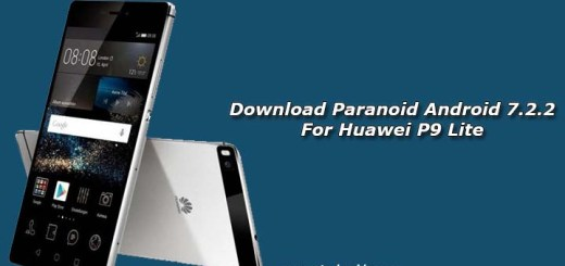 Download Paranoid Android 7.2.2 For Huawei P9 Lite