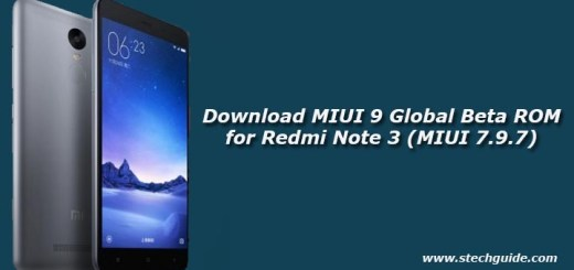 Download MIUI 9 Global Beta ROM for Redmi Note 3 (MIUI 7.9.7)
