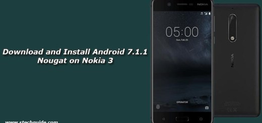 Download and Install Android 7.1.1 Nougat on Nokia 3