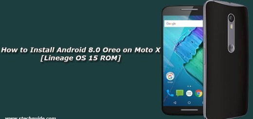 How to Install Android 8.0 Oreo on Moto X [Lineage OS 15 ROM]