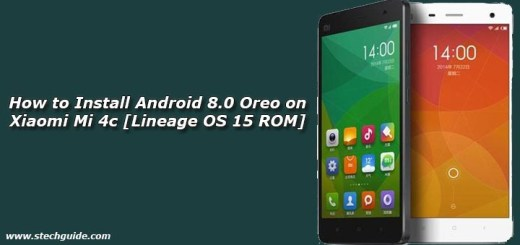 How to Install Android 8.0 Oreo on Xiaomi Mi 4c [Lineage OS 15 ROM]
