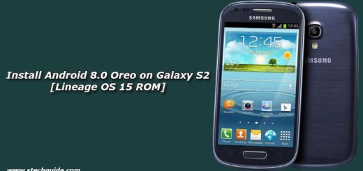 Install Android 8.0 Oreo on Galaxy S2 [Lineage OS 15 ROM]