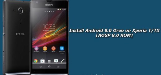 Install Android 8.0 Oreo on Xperia T/TX