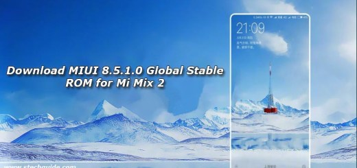 Download MIUI 8.5.1.0 Global Stable ROM for Mi Mix 2
