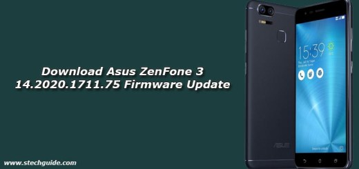 Download Asus ZenFone 3 14.2020.1711.75 Firmware Update