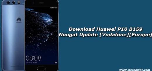 Download Huawei P10 B159 Nougat Update [Vodafone][Europe]
