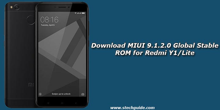 Download MIUI 9.1.2.0 Global Stable ROM for Redmi Y1/Lite