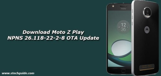 Download Moto Z Play NPNS 26.118-22-2-8 OTA Update