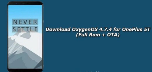 Download OxygenOS 4.7.4 for OnePlus 5T (Full Rom + OTA)